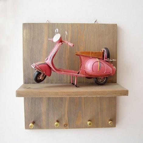 Pink Vespa key organiser,...