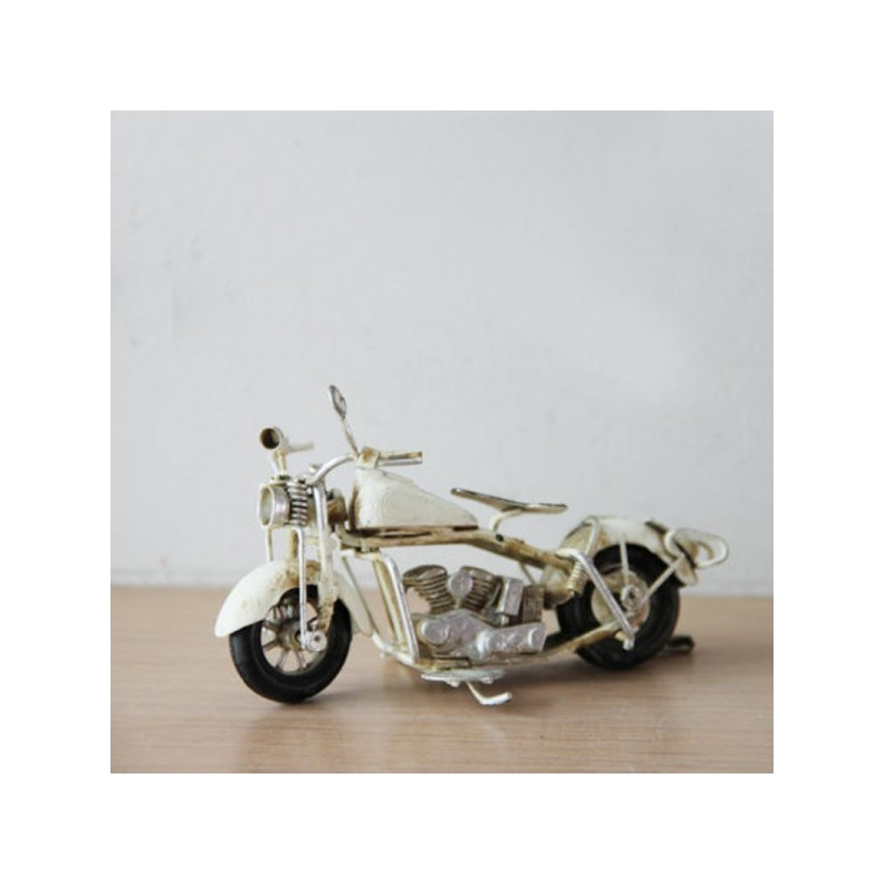 Yellow Vespa bike, collectible, retro miniature, tin and