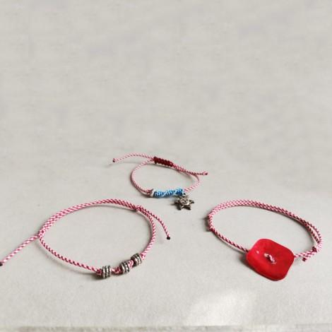Sun March bracelet, acrylic...