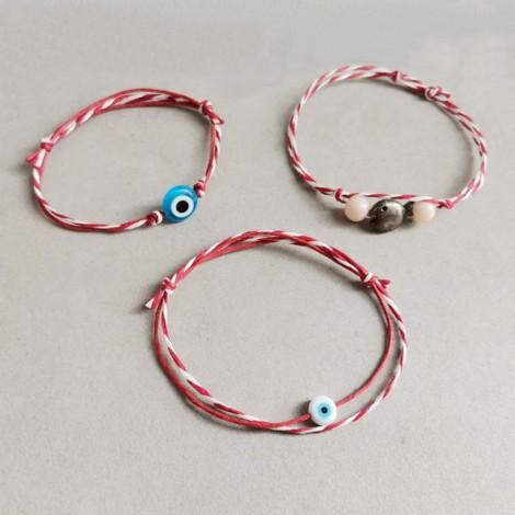 Blue eye March bracelet